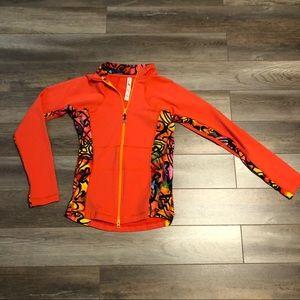 Triple flip workout jacket